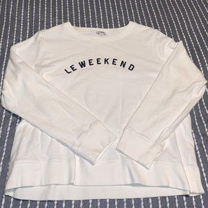 J. Crew Le Weekend Sweatshirt